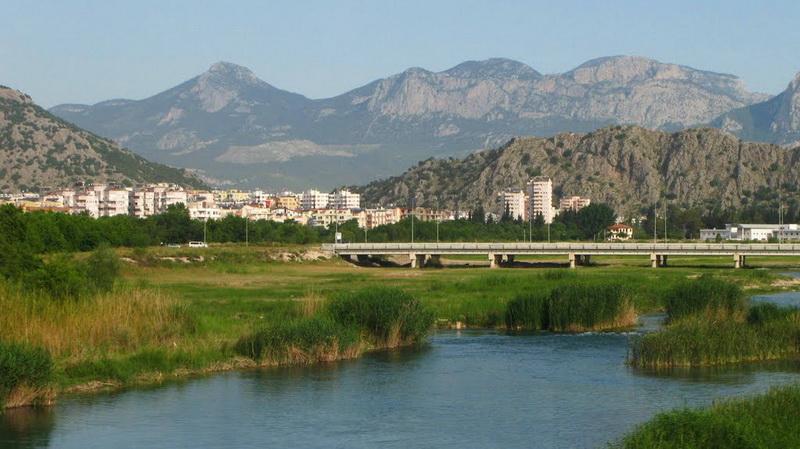 Река Богачай Коньяалты Анталия Турция