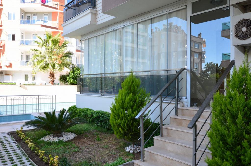 Lykia Residence 1+1 Анталия, Хурма, продажа квартиры с мебелью