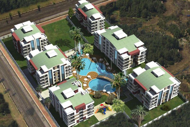 ПРОДАЖА квартиры от собственника в Анталии — Via Maris Residence 1