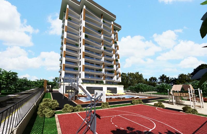 Продажа апартаментов в Аланье — Sun Flower Residence (2+1 дуплекс)_HH