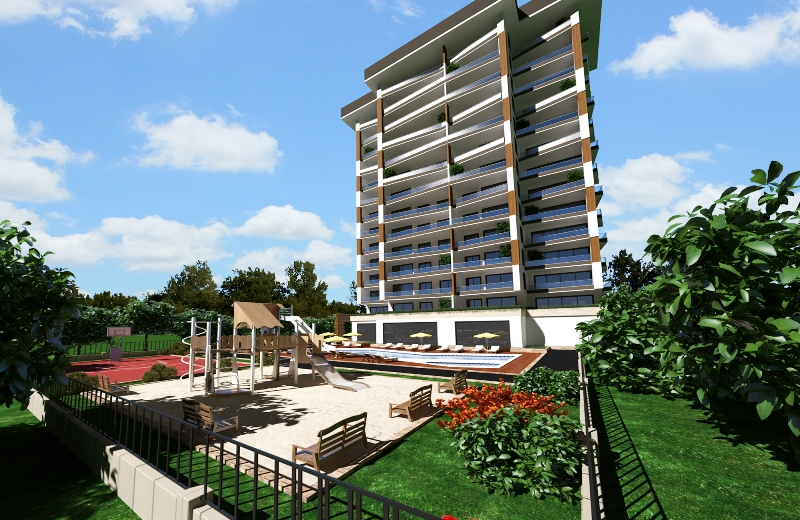 Продажа апартаментов в Аланье — Sun Flower Residence (2+1)_HH