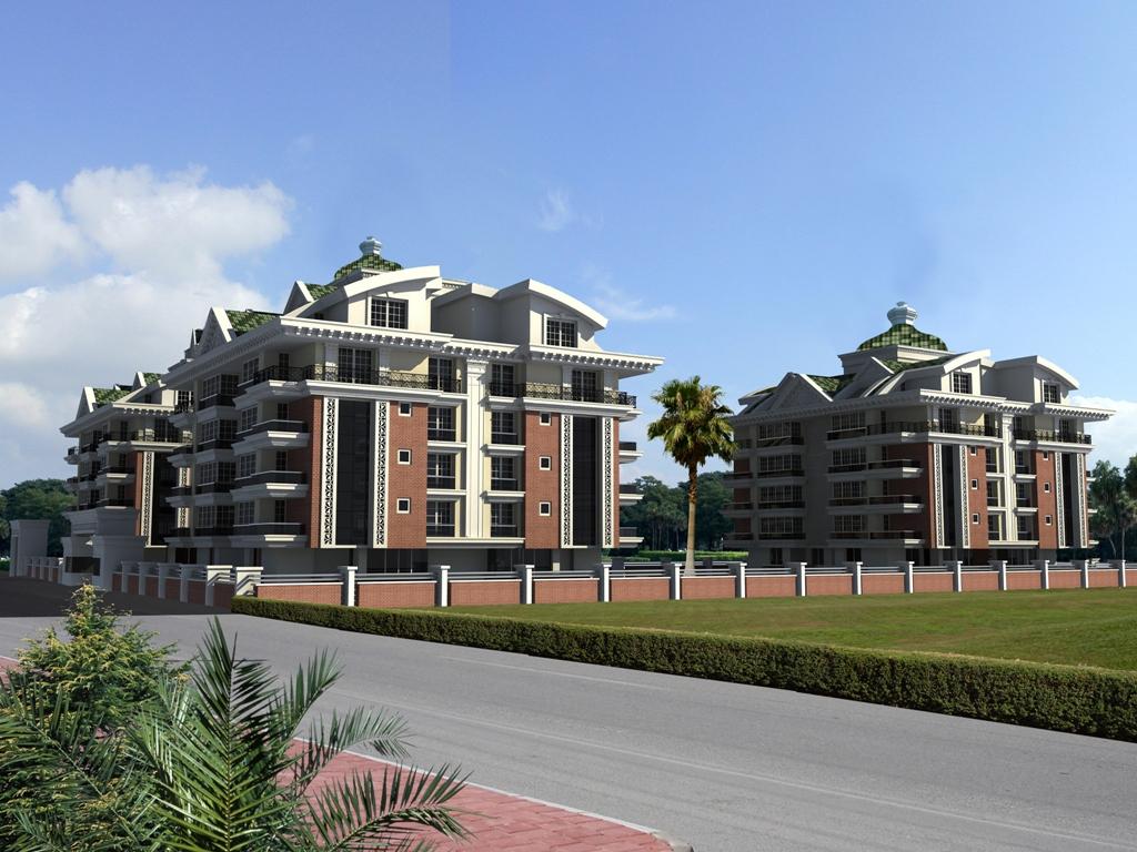 Zumrut Town (3+1 дуплекс) — Продажа апартаментов в Анталии (Хурма)