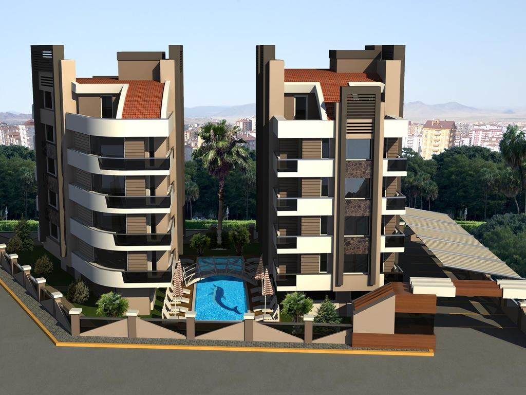 Продажа апартаментов в Анталии — Sweet Corner (1+1)_I