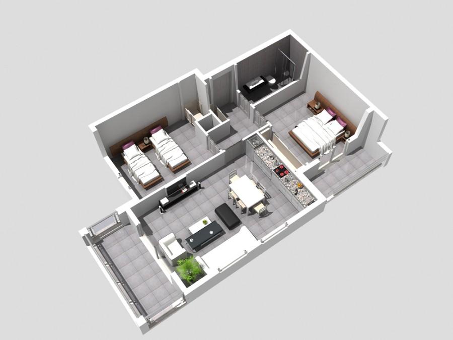 ПРОДАЖА апартаментов Spring Apartments 2+1 Ilica Илыджы Сиде Турция