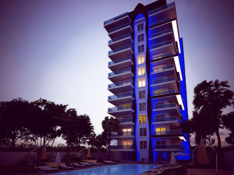 Продажа апартаментов в Аланье — Atlas 4 Residence (1+1)