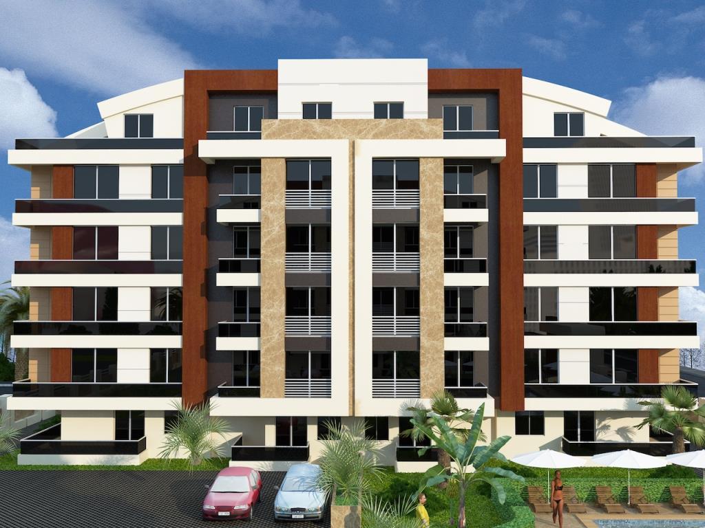 Продажа апартаментов в Анталии — Magnolia Residence (2+1)