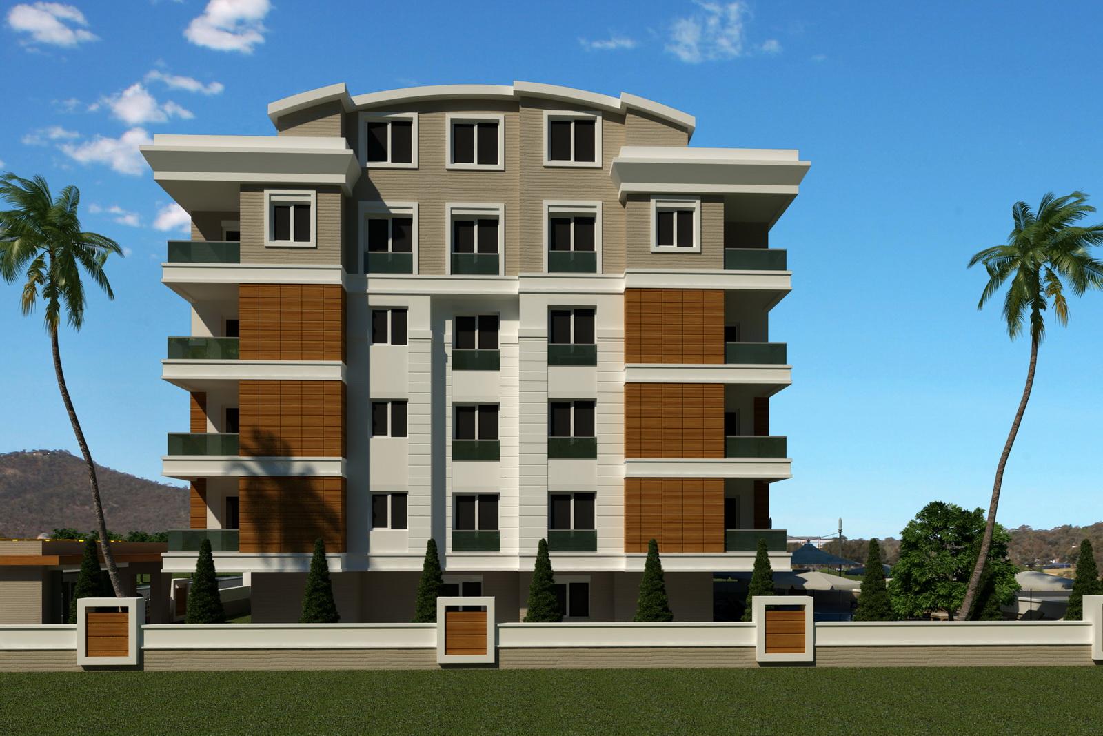 Dream Life Residence, продажа апартаментов в Анталии Турция рядом с морем