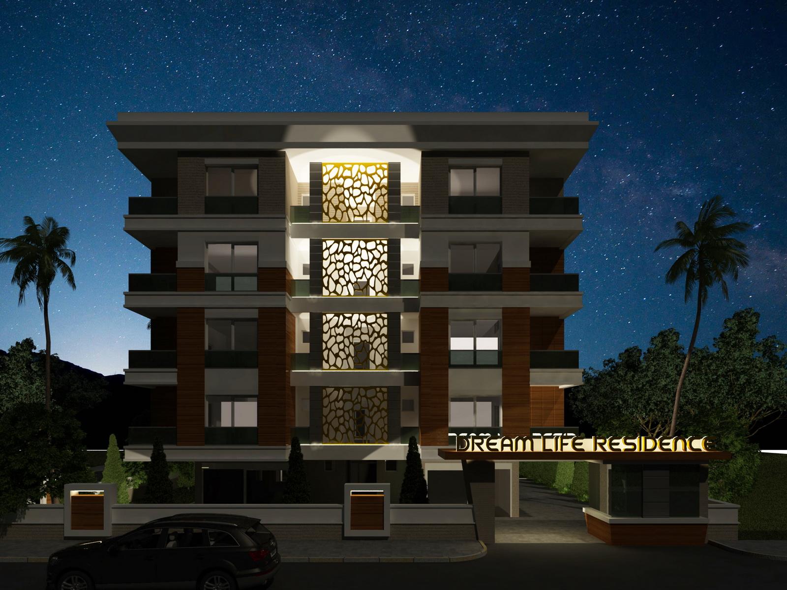 Dream Life Residence, продажа апартаментов в Анталии рядом с морем