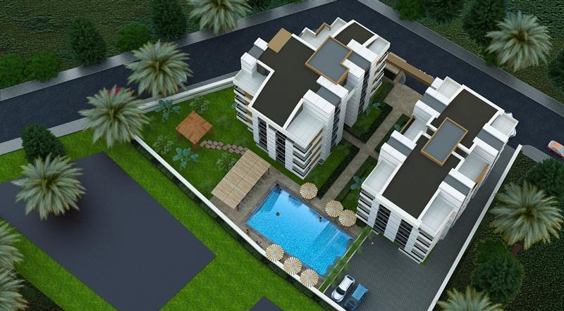 Продаётся недорогая квартира в НОВОМ комплексе в Анталии (Турция)