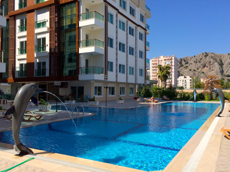 Продажа апартаментов в Анталии — Saray Residence (1+1)