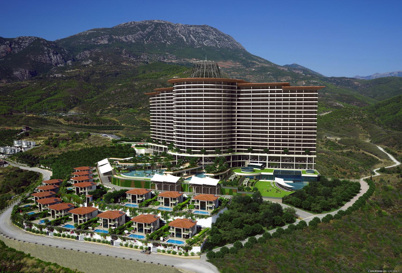 Продажа апартаментов в Алании — Riviera Imperial Deluxe Hotel (3+1)