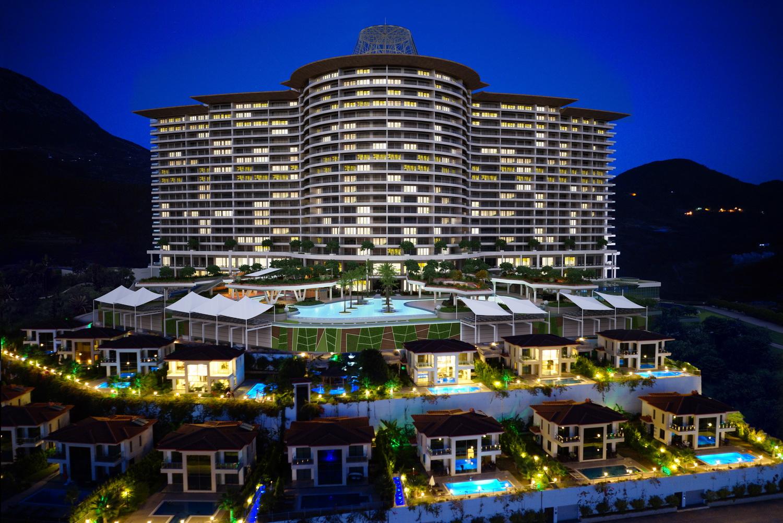 Продажа апартаментов в Алании — Riviera Imperial Deluxe Hotel (1+1)