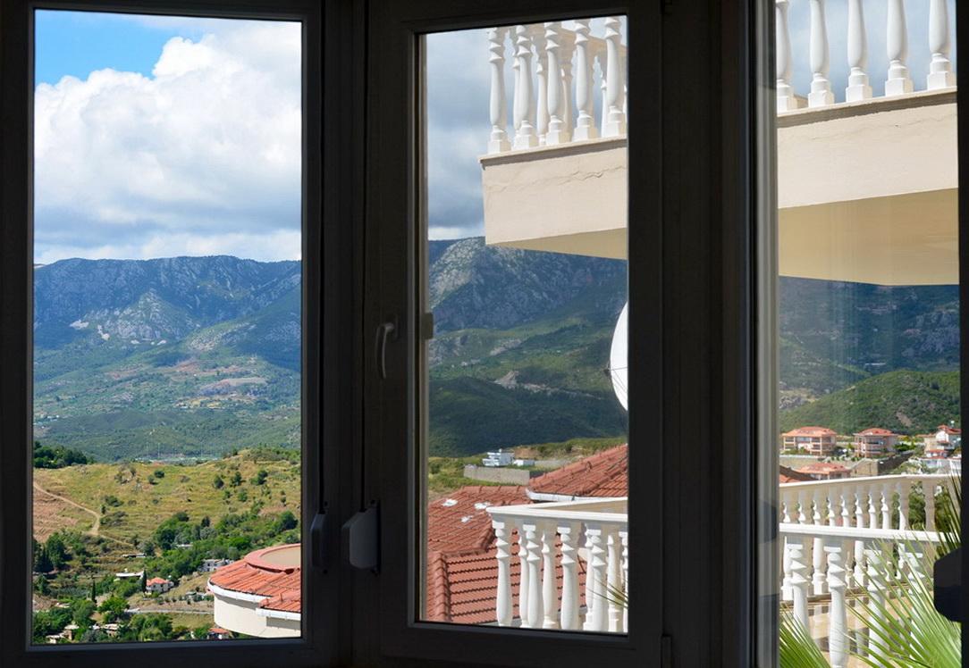 Вид с виллы Taurus Villas Каргыджак Аланья Турция фото