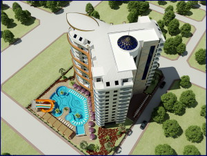 Yekta Plaza Residence Alanya Turkey