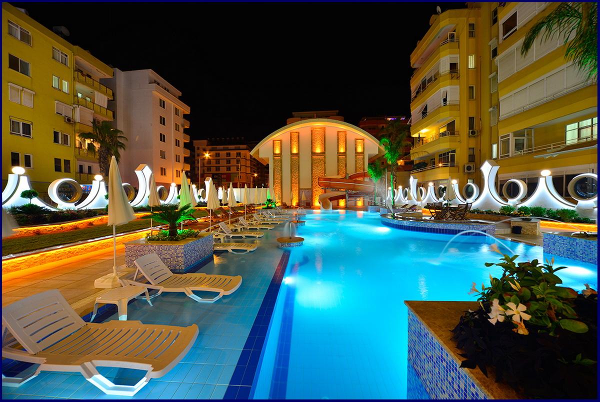 Yekta Queen Residence (1+1) — Продажа апартаментов в Аланье