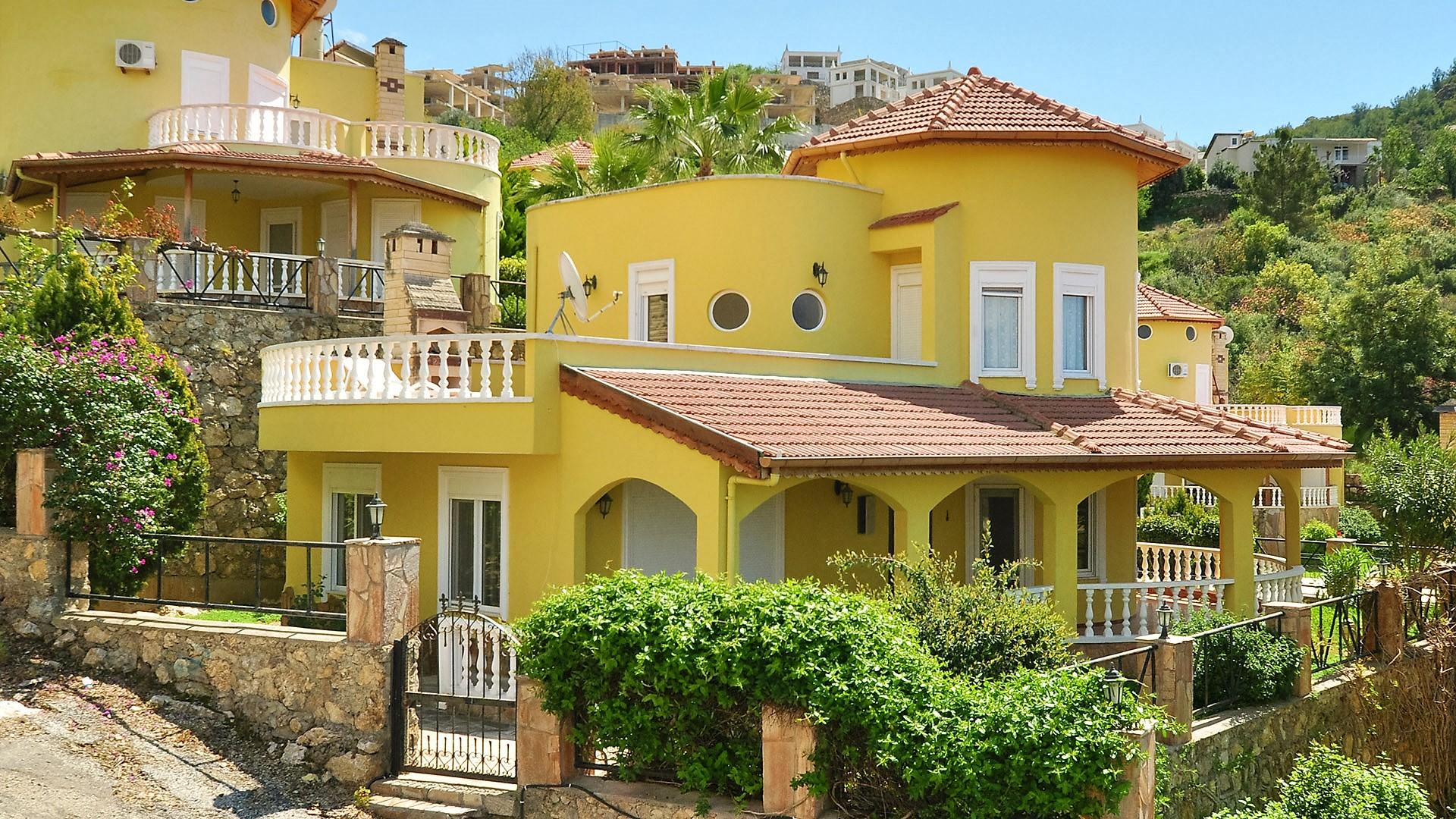 Villa Kargicak Alanya (3+1) — Продажа виллы в Аланье (Каргыджак)