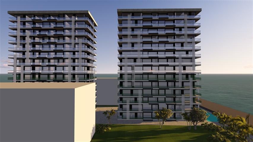 Konak Residence Alanya (1+1, 2+1, 3+1) продажа апартаментов в Махмутларе, Аланья, Турция, фото 1