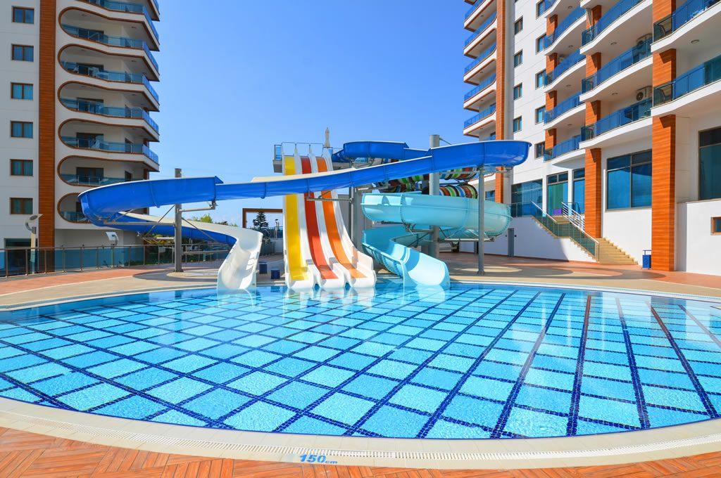 Azura Park Residence (1+1) — Квартира в комплексе элит-класса в Аланье