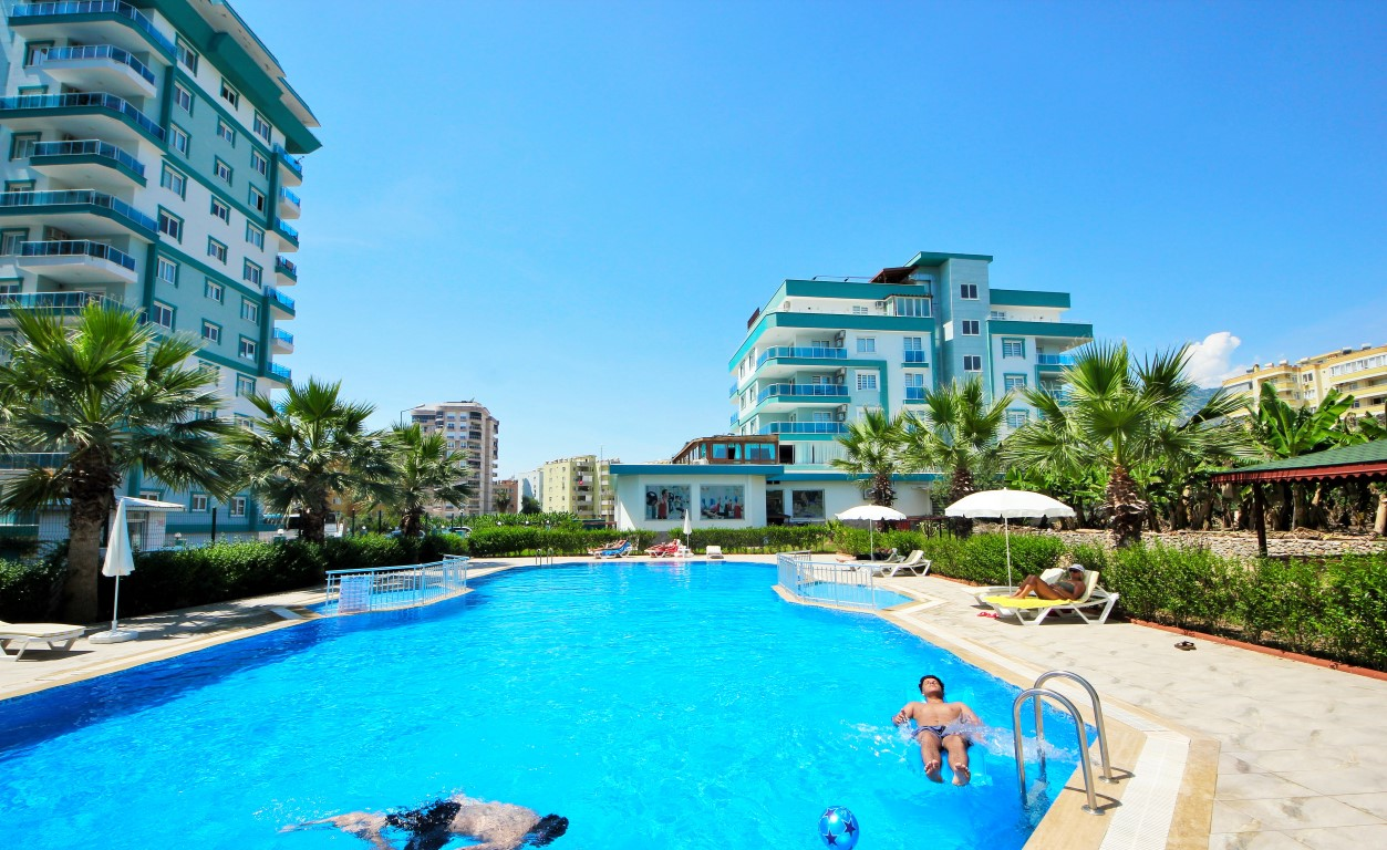 Angels Home Alanya (1+1) — Апартаменты с видом на античный город и горы (Аланья)