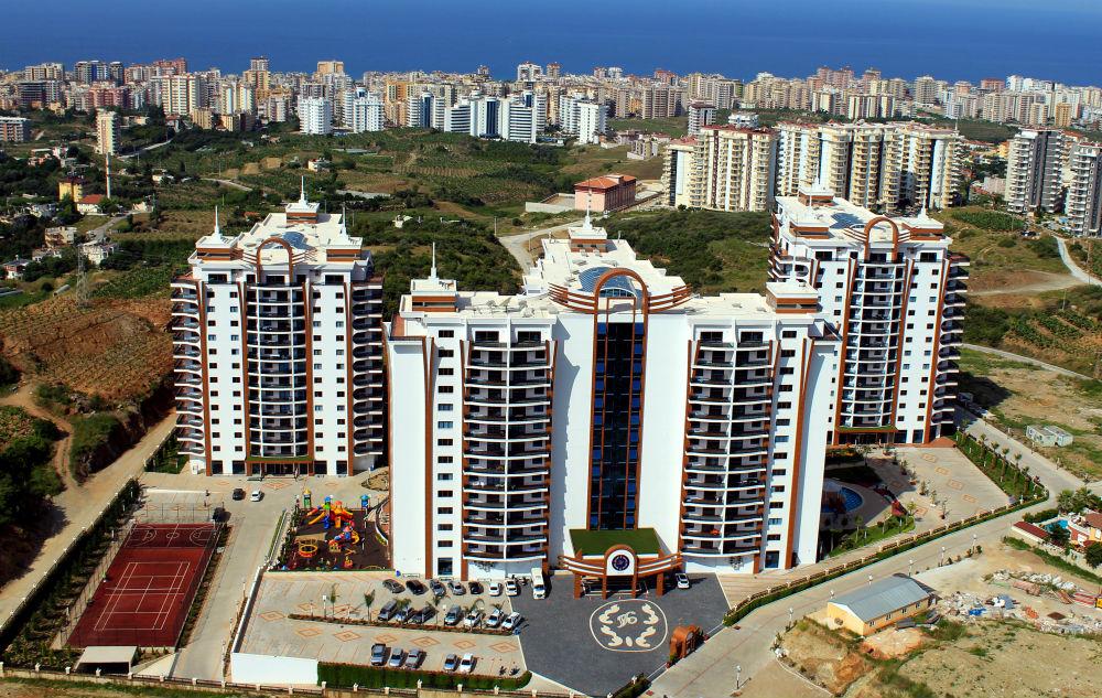 Azura Park Residence (1+1) — Срочная продажа квартиры в Махмутларе с мебелью (Аланья)