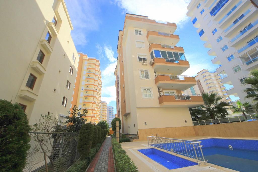 Alanya Beach Resort (1+1) — Недвижимость в Турции, продажа квартиры с мебелью Аланья (Махмутлар)