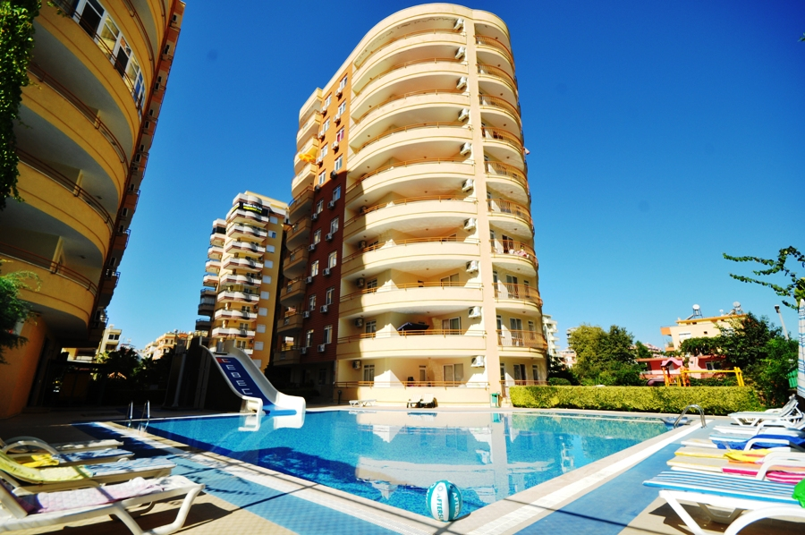 Cebeci 3 Residence (2+1) — Продажа трехкомнатной квартиры после ремонта в Аланье (Махмутлар)