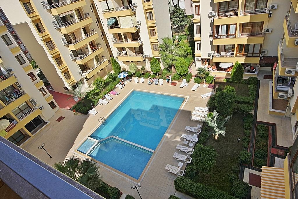 Turnkey Residence Alanya (1+1) — Продажа квартиры с мебелью и техникой в Аланье