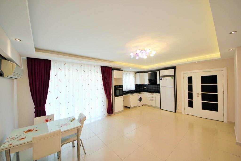 Ikon Residence (1+1) — Продажа большой квартиры с техникой в Аланье (Махмутлар)