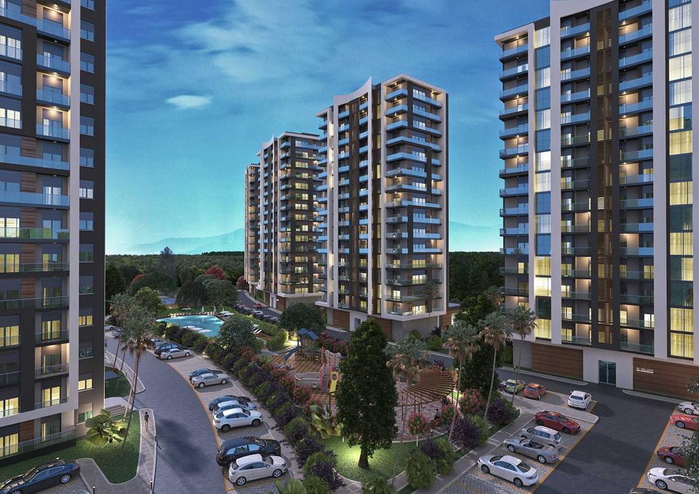 Rengi Antalya Dosemealti (1+1) — Продажа новых апартаментов в Анталии (Дешемеалты)
