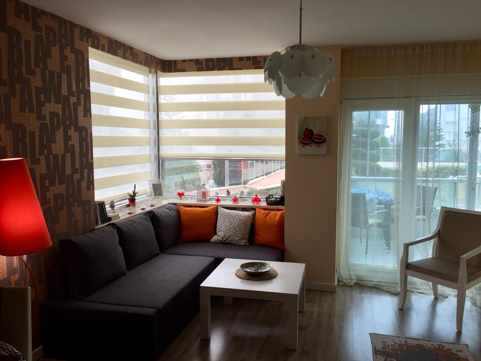 AIT Residence (1+1) — Продажа квартиры с мебелью на ПЕРВОЙ береговой линии в Алтынкуме (Коньяалты/Анталья)
