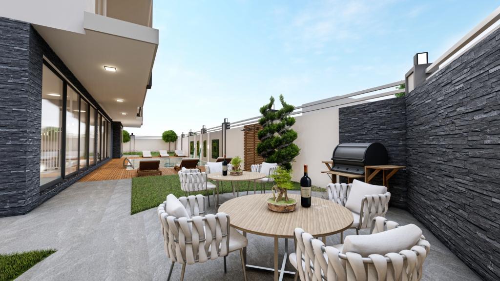 Sosyal Alan Residence — Продажа квартир на этапе СТРОИТЕЛЬСТВА в Аланье (Махмутлар)