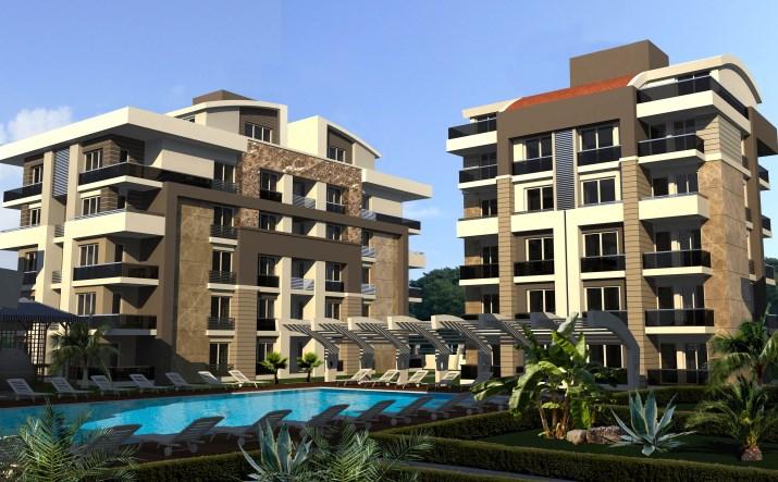 Atlantis Residence (2+1) — Продажа апартаментов в Анталии (Лиман)